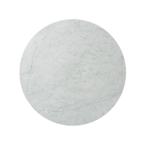 Fisher Round Cocktail Table (Marble)
