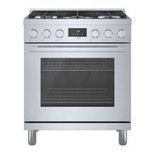 800 Series Dual Fuel Freestanding Range 76 cm Stainless steel HDS8055C