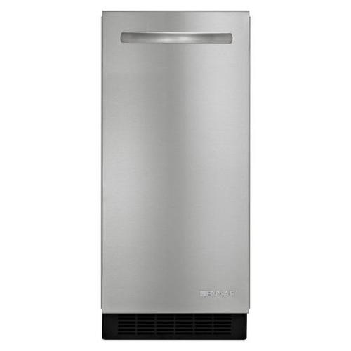 """Jenn-Air® Euro-Style 15"""" Under Counter Ice Machine - Stainless Steel"""