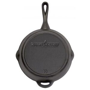 "10"" Seasoned Cast Iron Skillet"