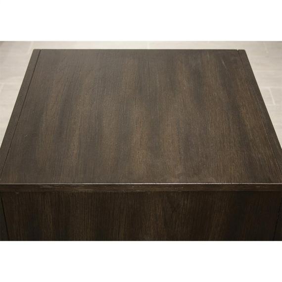Riverside - Vogue - Side Table - Umber Finish