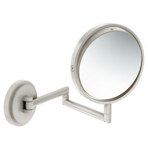 Arris brushed nickel 5x magnifying mirror Product Image