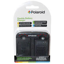 See Details - Polaroid Double (Dual) Battery Charger For The Nikon Batteries