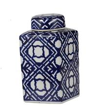Square Lidded Jar