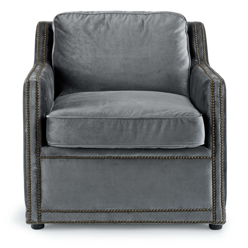 See Details - Posh Chair (charcoal Grey)