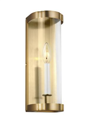 1 - Light Clear Glass Sconce Product Image
