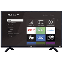 "43"" SMART FULL HD (1080P) LED RCA ROKU TV (RTR4360-US)"