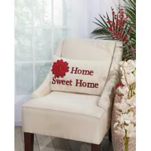 "Home for the Holiday L1430 Natural 12"" X 20"" Throw Pillow"