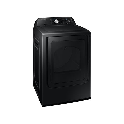 7.4 cu. ft. Electric Dryer with Sensor Dry in Brushed Black