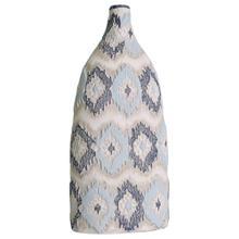 Ikat Large Handpainted Bottle