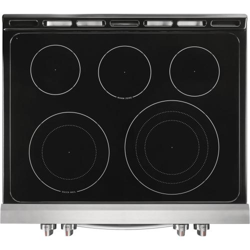 30'' Front Control Electric Range