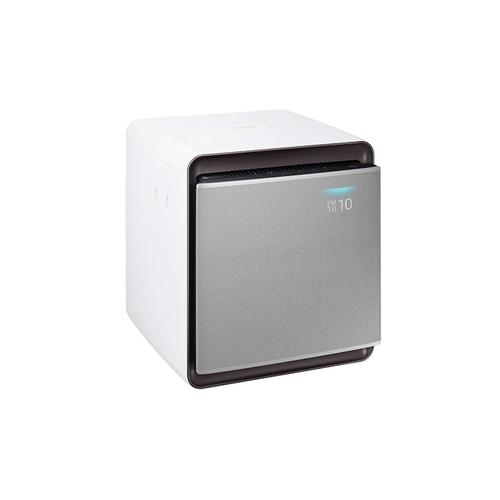 Cube Air Purifier with Wind-Free Air Purification in Airy White