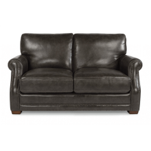 RED HOT BUY! Chandler Leather Loveseat