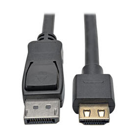 DisplayPort 1.2 to HDMI Active Adapter Cable, Gripping HDMI Plug, HDCP 2.2, 4K @ 60 Hz (M/M), 15 ft.