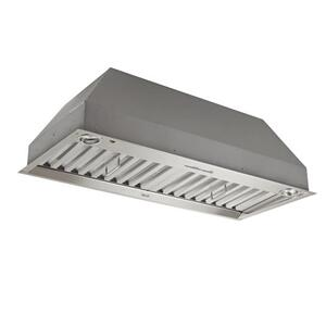 "Best36-1/2"" Stainless Steel Built-In Range Hood for use with External Blower Options 300 to 1650 Max CFM"