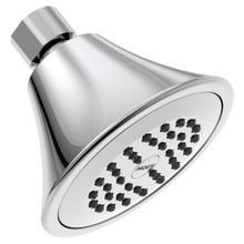 "Moen Chrome one-function 3-3/4"" diameter spray head eco-performance showerhead"