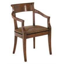 Hartford Rush Seat Arm Chair