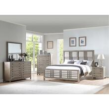 Emerald Home B562-10-k Briar Crest Queen Bed, Cappuccino Gray