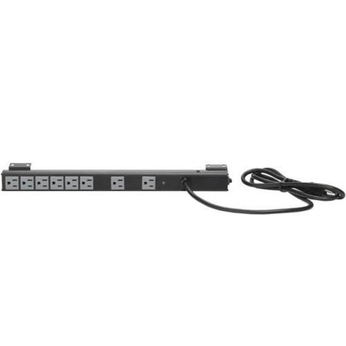 Vertical Power Strip and Surge Protector; Fits all Component Series AV racks