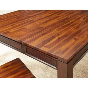 "Abaco Counter Table w/18"" Butterfly Leaf"