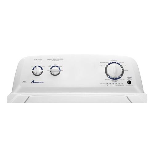 Amana Canada - Amana® 4.1 cu. ft. I.E.C. High-Efficiency Top-Load Washer with Spreckled Porcelain Tub