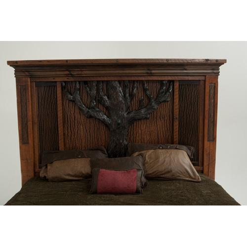 Glacier Bay - English Oak Bed - California King Headboard Only