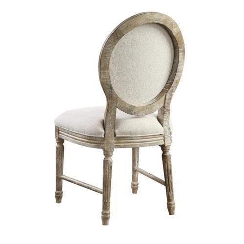 Interlude Dining Chair, Sandstone Buff D560-20su