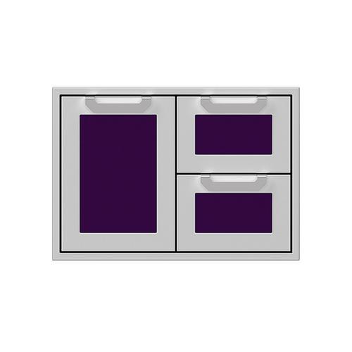 """30"""" Hestan Outdoor Combo Door/Drawer - AGSDR Series - Lush"""