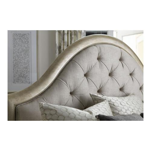 Starlite King Upholstered Panel Bed
