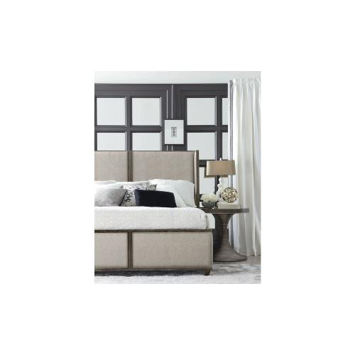 Geode Amethyst Queen Upholstered Bed
