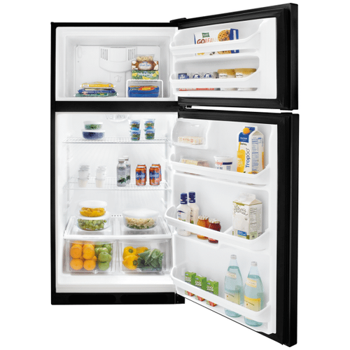 Frigidaire 18 Cu. Ft. Top Freezer Refrigerator (This is a Stock Photo, actual unit (s) appearance may contain cosmetic blemishes.  Please call store if you would like actual pictures).  This unit carries our 6 month warranty, MANUFACTURER WARRANTY and REBATE NOT VALID with this item. ISI 40044
