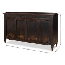 See Details - Madigan Sideboard, Antique Black