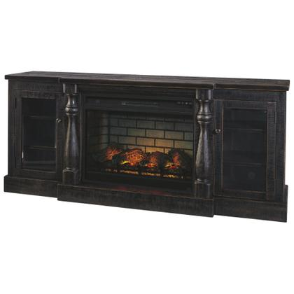 """See Details - Mallacar 75"""" TV Stand With Electric Fireplace"""