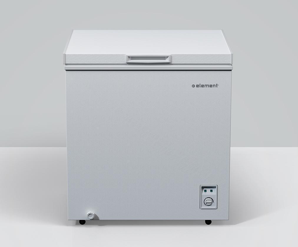 Element ApplianceElement 5 Cu. Ft. Chest Freezer, White