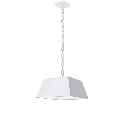 Product Image - 1lt Milano Small Pendant, Wht Shade, Wht