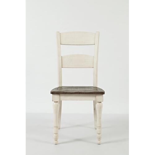 Madison County Ext Table With 8 Chairs - Vintage White