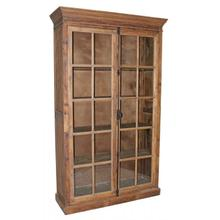Tall Pine 2-Door Bookcase