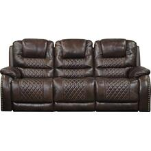 Power Headrest/Lumbar Power Lay Flat Recl Sofa