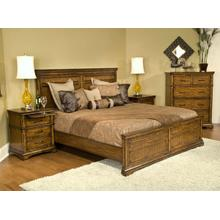 E King Panel Bed