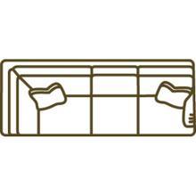 1074-23rf Cornering Sofa