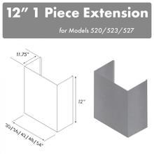 """ZLINE 12"""" Chimney for 48"""" Under Cabinet Hoods (520/523/527-48-1FTEXT)"""