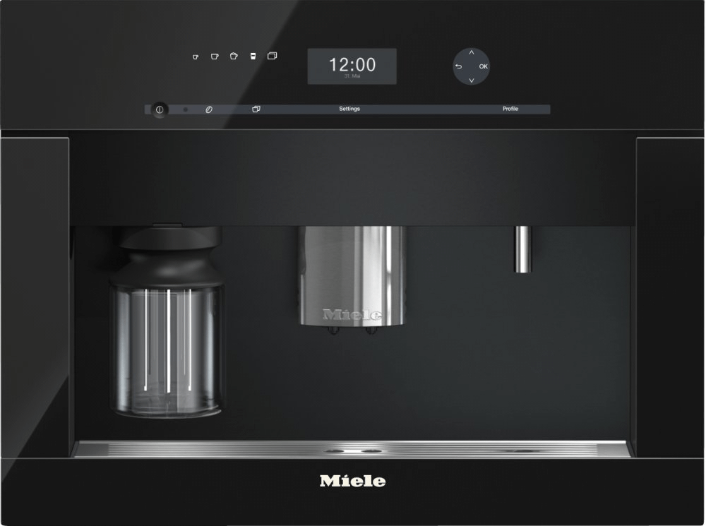MieleCva 6401 - Built-In Coffee Machine With Bean-To Cup System And Onetouch For Two Prep. For Perfect Coffee Enjoyment.