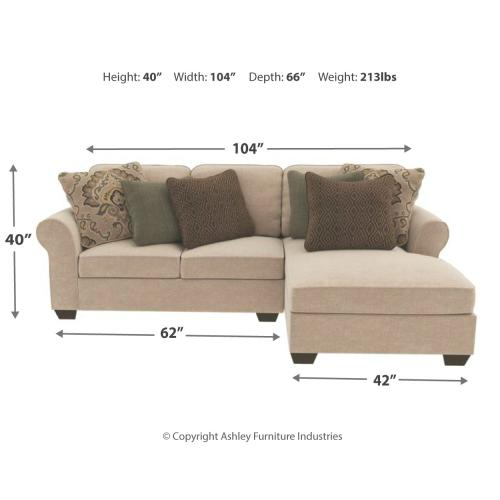 Wilcot 2-piece Sectional With Chaise