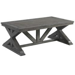 7062 Old Forge Trestle Cocktail Table