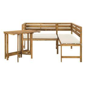 Wilton Balcony Corner Lounge Set - Natural / Beige