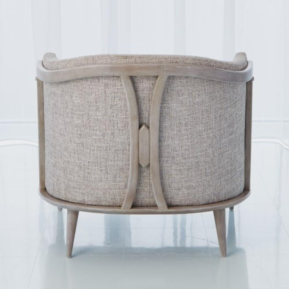 X Back Chair-Muslin