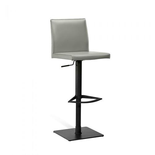 Lorenzo Adjustable Stool - Grey