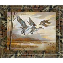 """Pintails"" By Ruanne Manning And Mossy Oak Native Living Framed Print Wall Art"