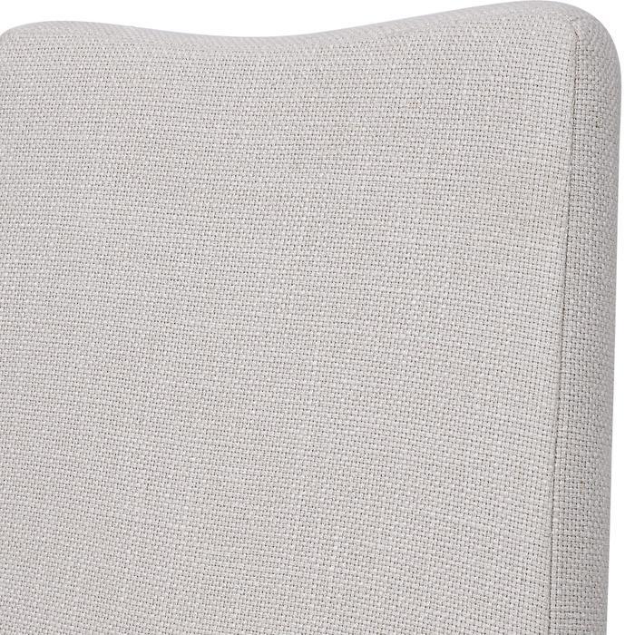 Uttermost - Delano Armless Chair, Walnut, 2 PER BOX