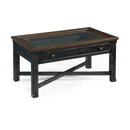 Magnussen Home - Small Rectangular Cocktail Table